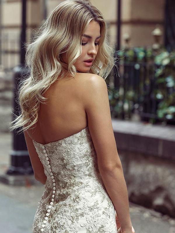 DAKOTA 3 strapless mermaid wedding dresses on sale Luv Bridal Melbourne Australia
