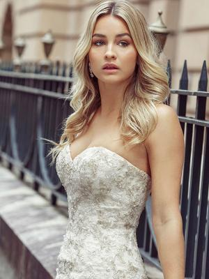 DAKOTA 6 sweetheart wedding gowns Luv Bridal Sydney Australia
