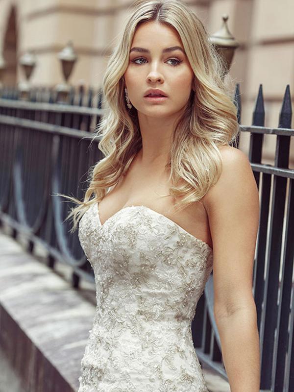 DAKOTA 6 sweetheart wedding gowns Luv Bridal Sydney Australia