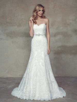 BRIONY M1504 strapless sweetheart lace up corset lace back wedding dress Mia Solano Luv Bridal GOld Coast Australia