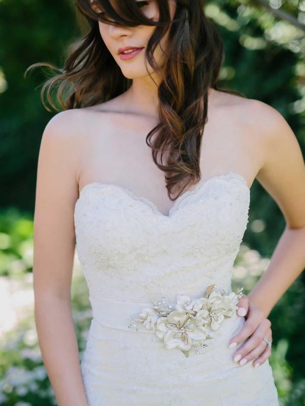 Pearl and bead flower belt-envouge-bridal-jewellery-luv-bridal