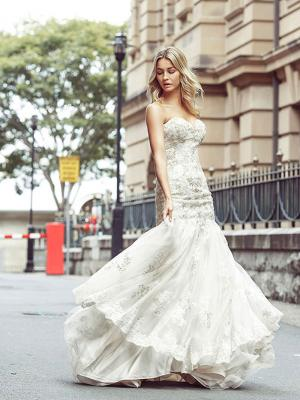 DAKOTA 4 glamorous mermaid wedding dresses Luv Bridal Sydney Australia