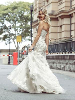 DAKOTA 5 strapless wedding gowns Luv Bridal Adelaide Australia