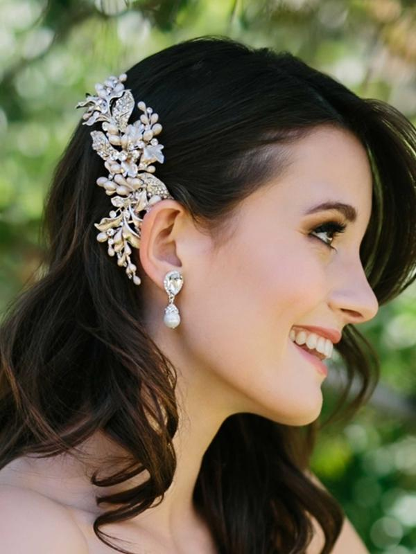 HEADPIECE Pear and bead-envouge-bridal-jewellery-luv-bridal