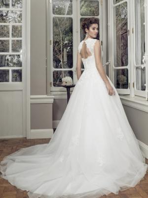 AUTUMN M1408Z keyhole back strapless sweetheart neckline ballgown wedding dress Luv Bridal Adelaide Australia