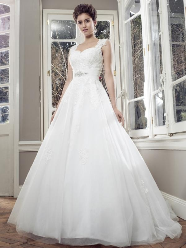 AUTUMN M1408Z strapless sweetheart neckline ballgown wedding dress Luv Bridal Adelaide Australia