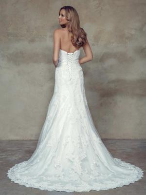 BRIONY M1504 strapless sweetheart lace up corset lace back wedding dress Mia Solano Luv Bridal GOld Coast Australia