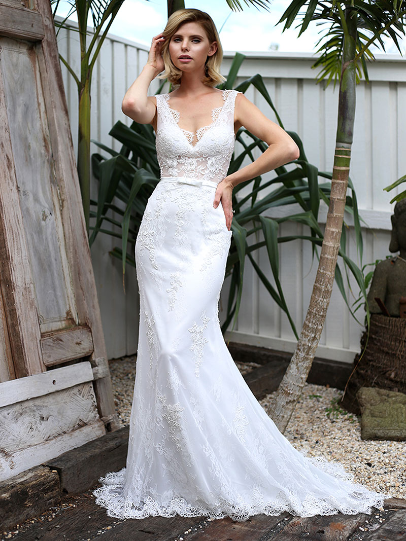 Sharne Wedding Dress | LUV Bridal & Formal