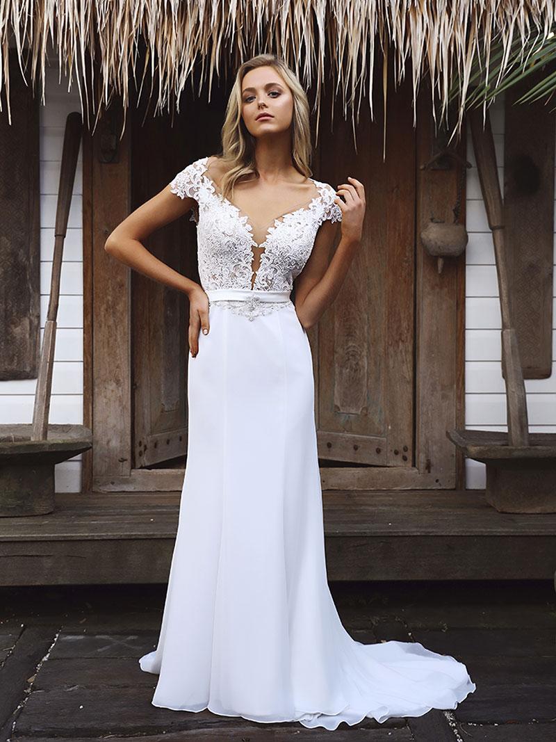 Star Wedding Dress LUV Bridal Formal - Star Wedding Dress