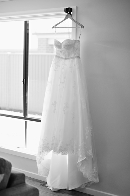 Skyeanne real bride Australian Wedding Luv Bridal Australia Bellerose Mia Solano wedding dress