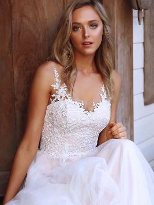 serina madi lane bridal australia luv brisbane aline tulle lace wedding dress