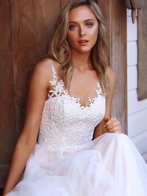 serina madi lane bridal australia luv brisbane aline tulle lace wedding dress