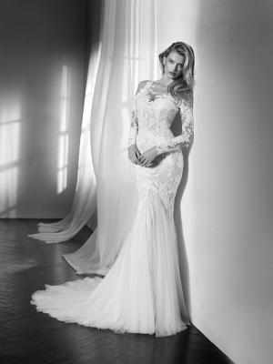 ZANTE long sleeve fitted mermaid wedding dress st patrick luv bridal pronovias