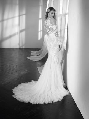 ZANTE long sleeve fitted mermaid wedding dress st patrick luv bridal pronovias