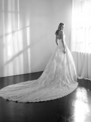 ZECILE strapless sweetheart lace ballgown wedding dress st patrick luv bridal pronovias