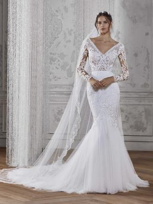 KADIE ST PATRICK STUDIO 2019 OFF WHITE WEDDING DRESS LUV BRIDAL AUSTRALIA