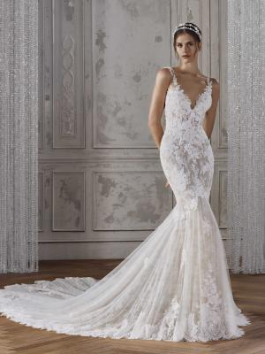 KALANIA ST PATRICK STUDIO 2019 OFF WHITE WEDDING DRESS LUV BRIDAL AUSTRALIA