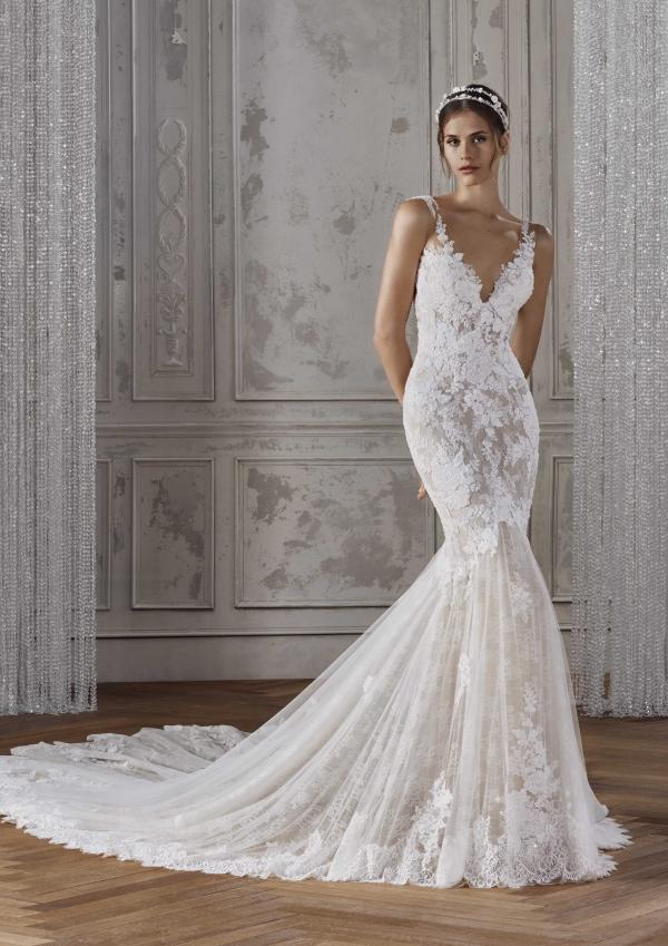 KALANIA ST PATRICK STUDIO 2019 OFF WHITE WEDDING DRESS LUV BRIDAL AUSTRALIA