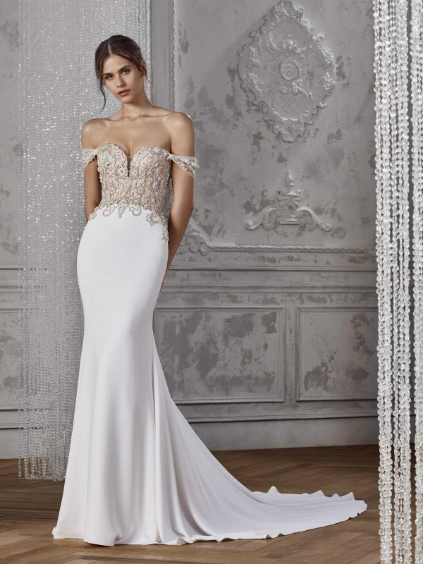 f920dfe1a50dc KASSIDY. View. KARAH ST PATRICK STUDIO 2019 OFF WHITE WEDDING DRESS ...