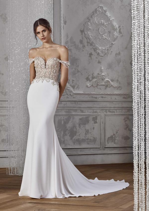 KASSIDY ST PATRICK STUDIO 2019 OFF WHITE WEDDING DRESS LUV BRIDAL AUSTRALIA