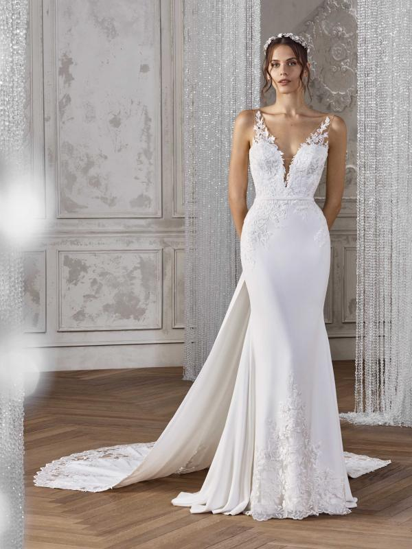 KATJA ST PATRICK STUDIO 2019 OFF WHITE WEDDING DRESS LUV BRIDAL AUSTRALIA