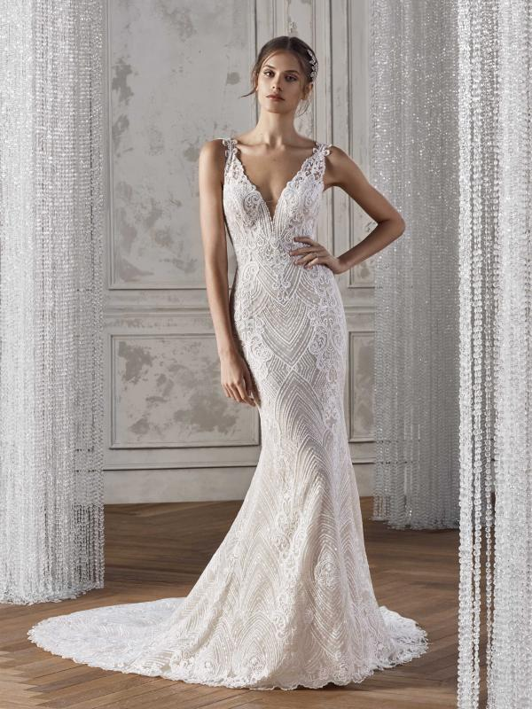 KELDA ST PATRICK STUDIO 2019 OFF WHITE WEDDING DRESS LUV BRIDAL AUSTRALIA
