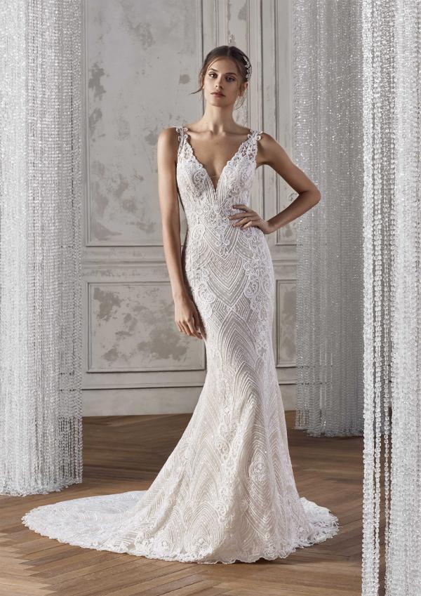 KELDA ST PATRICK STUDIO 2019 OFF WHITE WEDDING DRESS LUV BRIDAL AUSTRALIA