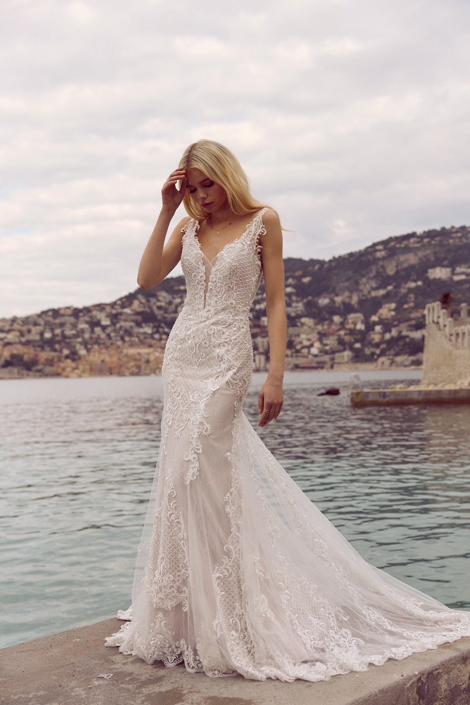 RADA-ML3718-LACE-FITTED-GOWN-WITH-PLUNGE-NECKLINE-LOW-BACK–LACE-STRAPS-WEDDING-DRESS-MADI-LANE-BRIDAL5