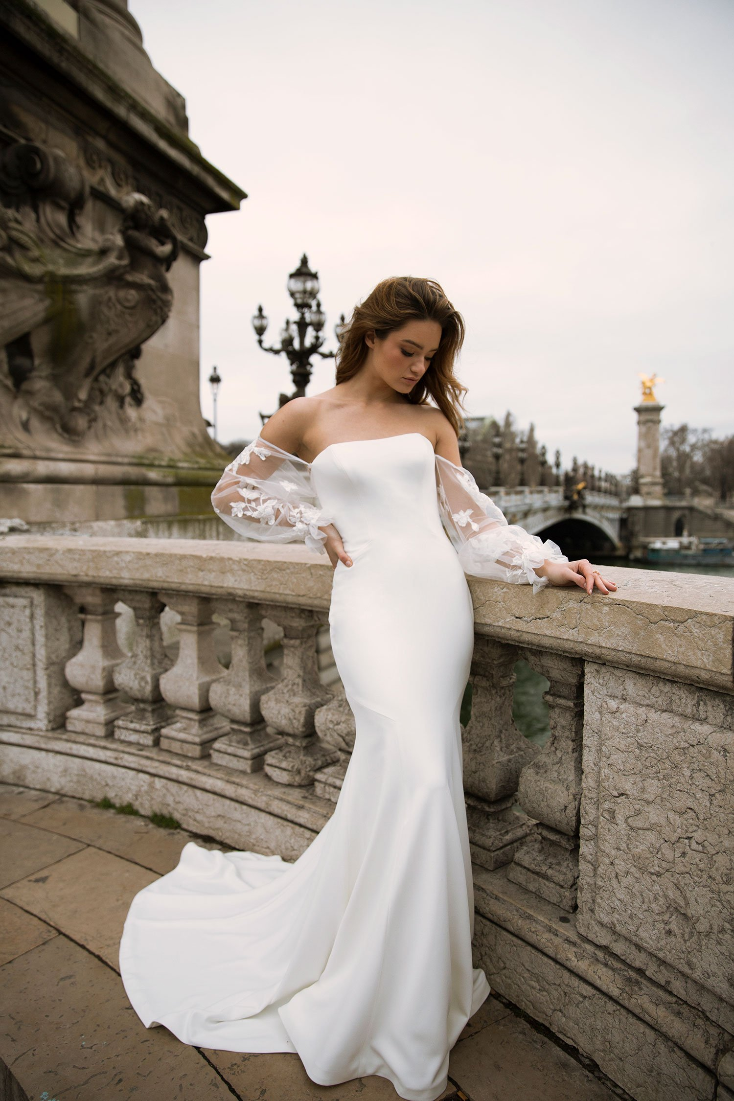 FINLEY-ML0153-STRAIGHT-NECKLINE-CREPE-GOWN-ZIP-AND-BUTTON-UP-BACK-WEDDING-DRESS-DETACHABLE-OFF-SHOULDER-TULLE-AND-LACE-BALLOON-SLEEVES-MADI-LANE-BRIDAL4