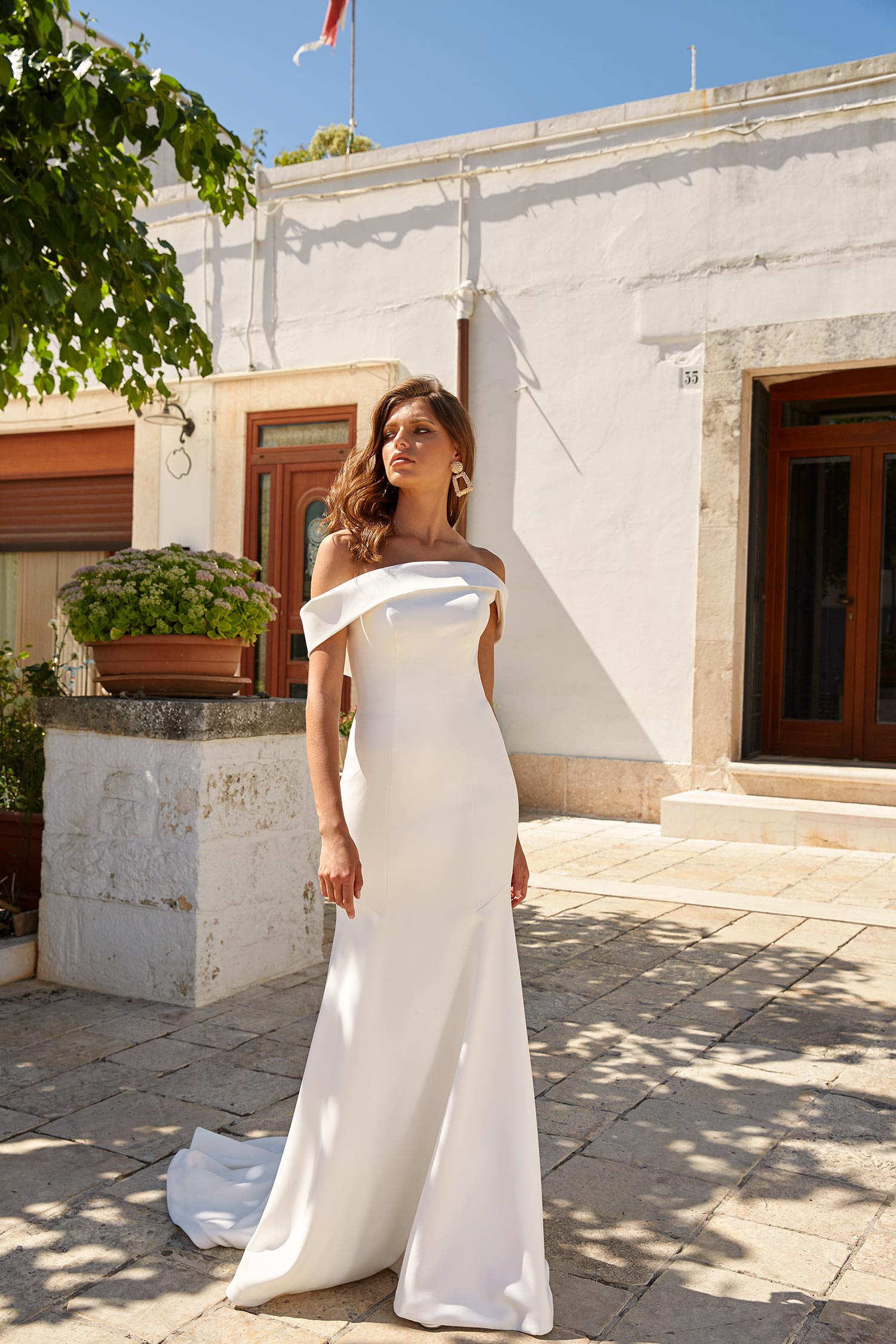 MILES-ML12885-CREPE-GOWN-WITH-OFF-THE-SHOULDER-STRAPS-ZIP-UP-BACK-WITH-DETACHABLE-CAPE-WEDDING-DRESS-MADI-LANE-BRIDAL1