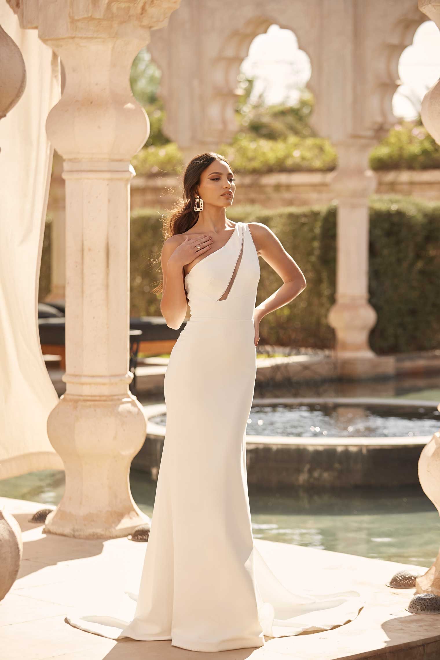 ARLO-ML16234-FULL-LENGTH-FITTED-CREPE-GOWN-WITH-SINGULAR-SHOULDER-STRAP-TIE-UP-BOW-ON-BACK-AND-ZIP-CLOSURE-WEDDING-DRESS-MADI-LANE-BRIDAL1