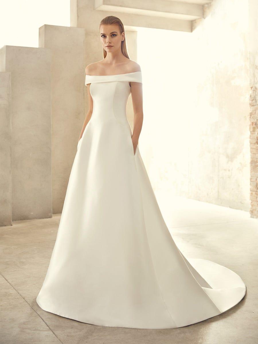 Kiko P Off the Shoulder Wedding Dress 1