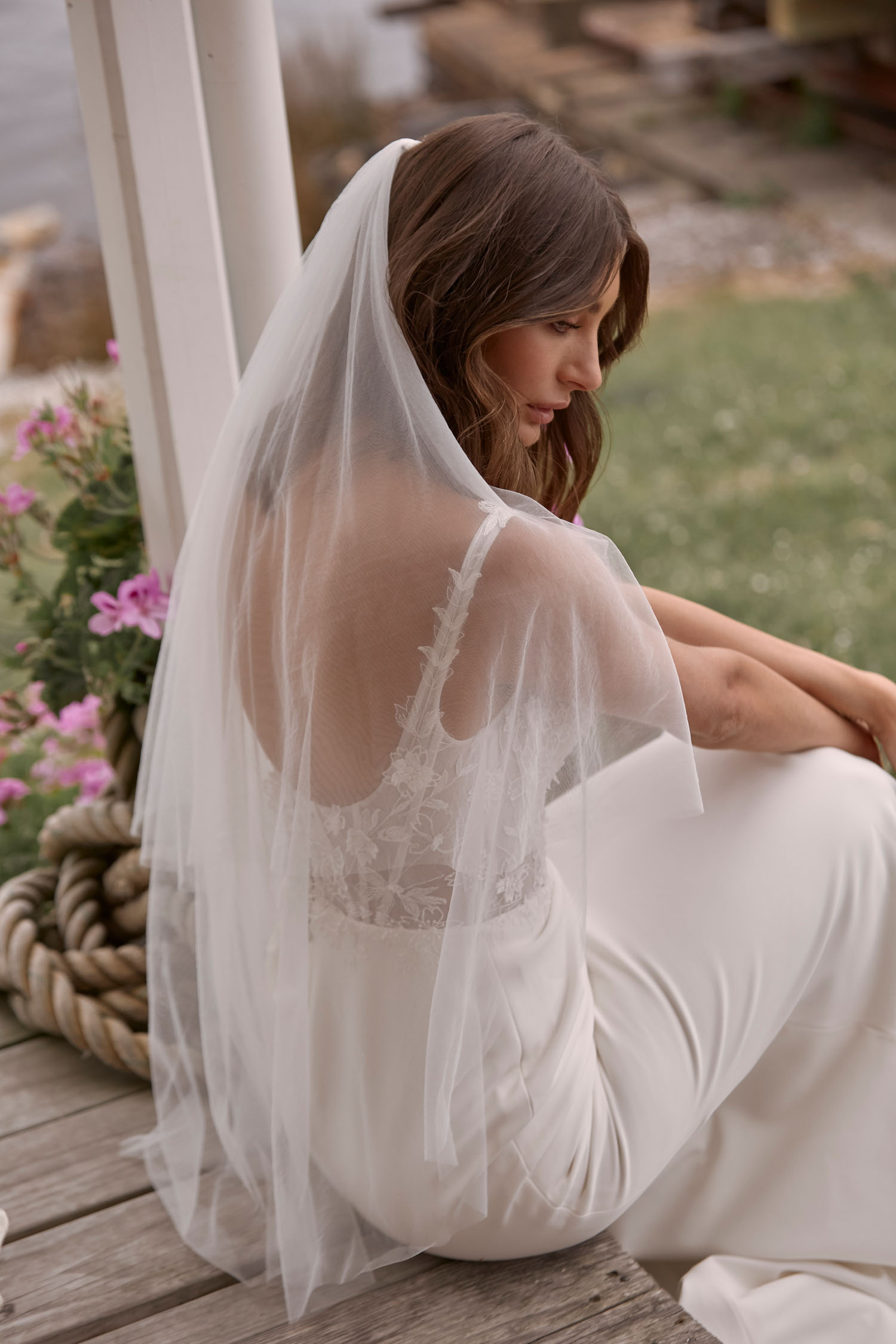 CARSON-ML21005-FULL-LENGTH-FITTED-CREPE-GOWN-LACE-BODICE-STRAPS-AND-SCOOP-NECKLINE-SCOOP-BACK-ZIPPER-CLOSURE-WEDDING-DRESS-AND-VEIL-MADI-LANE-BRIDAL-5