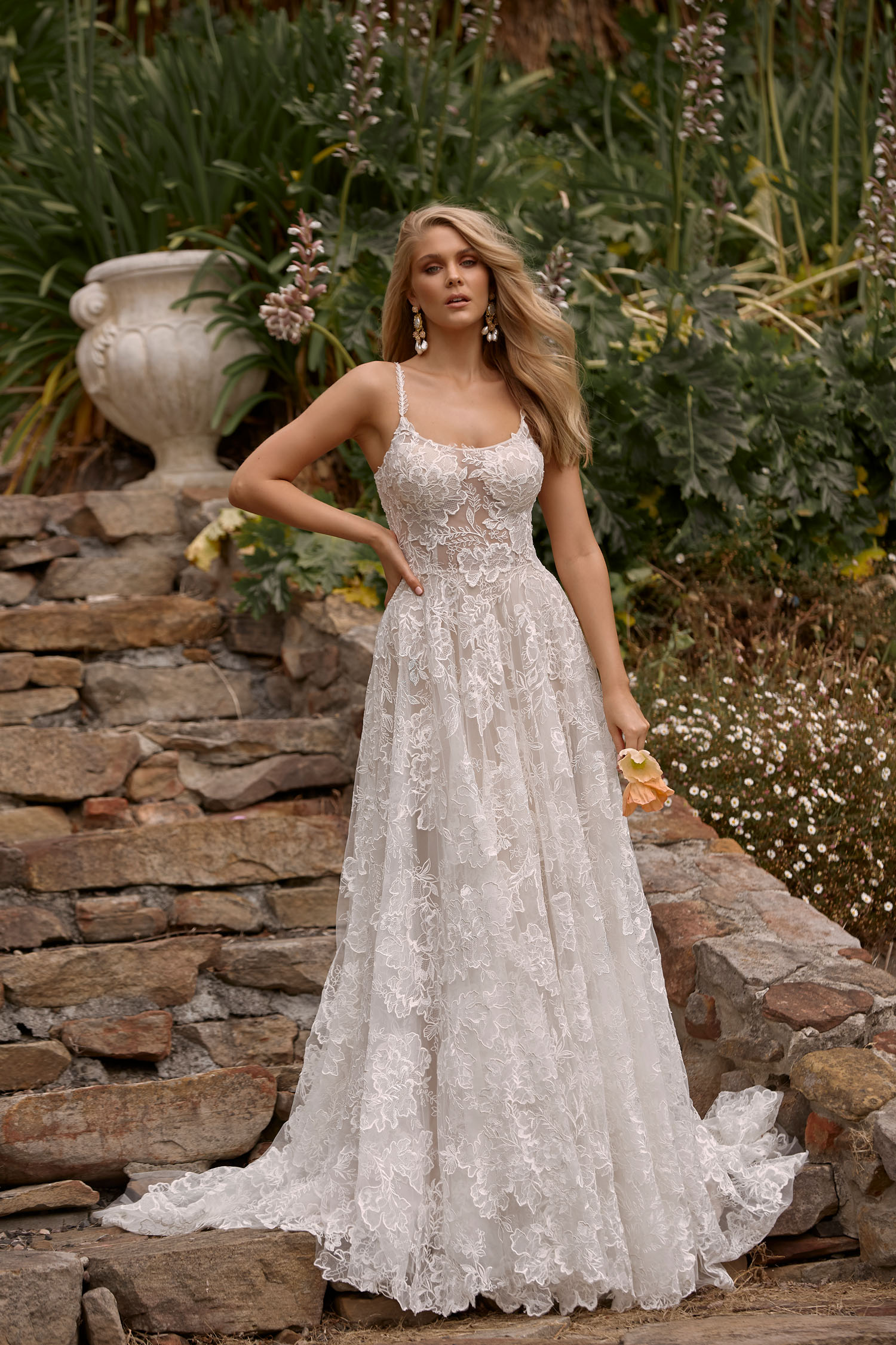 CLEO-ML20026-FULL-LENGTH-A-LINE-FLORAL-LACE-GOWN-SCOOP-NECKLINE-THIN-STRAPS-SCOOP-BACK-ZIPPER-AND-BUTTON-CLOSURE-WEDDING-DRESS-MADI-LANE-BRIDAL-1